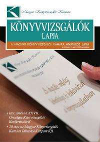 Könyvvizsgálók lapja c. hírlevél címoldala