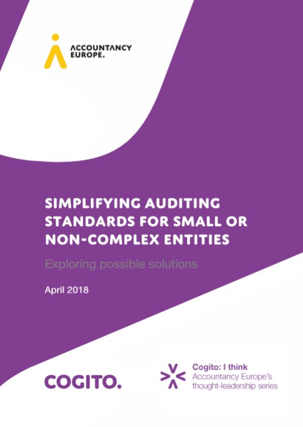 Publikáció a kis- és nem-komplex szervezetek könyvvizsgálati szabványainak egyszerűsítése címmel