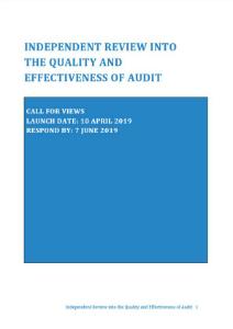 Brydon review - az Egyesült Királyság könyvvizsgálói ágazatának átvizsgálása