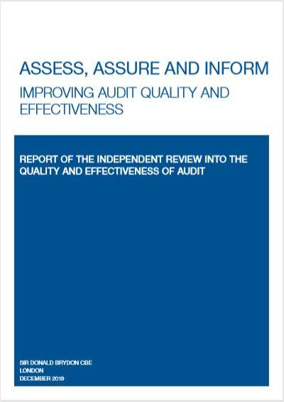 Sir Donald Brydon jelentés