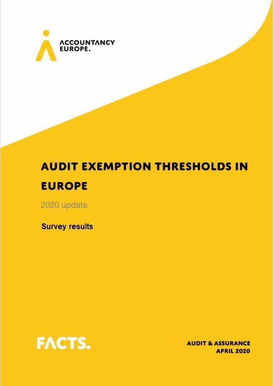 Könyvvizsgálati kötelezettségre meghatározott küszöbértékek Európában